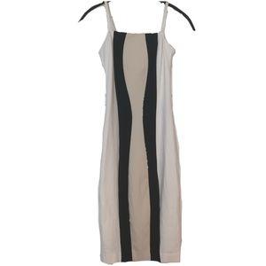 Bebe Striped Slip Dress NWOT Sz. XS